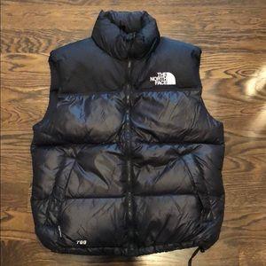 North Face Men's Puffer Vest in Black: Medium